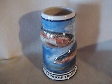 Budweiser CS338 1998 Angler Rainbow Trout Unlidded Stein