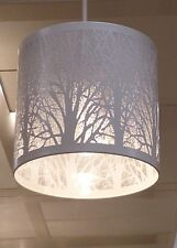 Colore Bianco contemporaneo TREE SCENA easy-to-fit Ciondolo Soffitto Lampada Luce all'ombra