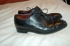 Charles Tyrwhitt MSGXBK Black Leather Dress Shoes Size 11 Made in England