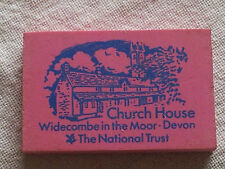 Vintage Church House Widecombe in the Moor National Trust Rubber Eraser