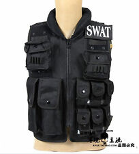 New Syle US SWAT Airsoft Tactical Hunting Combat Vest With SWAT Patches - US026
