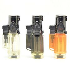 Hot Selling Windproof Trip Torch Jet Flame Refillable Butane gas torch Lighter
