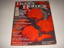 BETTER HOMES AND GARDENS Magazine, March, 1974, ROSES, MEDITERRANEAN DECOR!