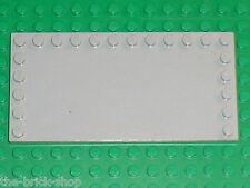 Plaque lisse grise LEGO MdStone Tile 6178 / set 6211 10178 10219 8275 3677 7733
