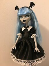 Black Lolita Dress for Monster High Doll
