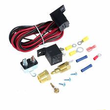 200/185 Cooling Radiator Engine Fan Thermostat Temperature Switch Relay Kit 3/8