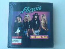 "Poison Limited Edition 7"" Vinyl Talk Dirty To Me/Want Some, Need Some & L/XL Tee"