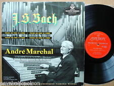 ANDRÉ MARCHAL - J.S. BACH - Prelude & Fugue  LP DTL93056   Bach Organ Works 1955