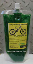 Bicycle tyre sealant for tube & tubeless tyres 400ml pouch