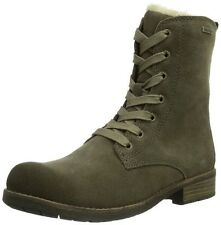 Gabor Lizzy Girls'  Leather & Wool  Boots Grey (Gracy Horse Taupe) 13 UK 32 EU