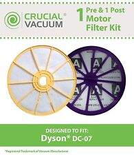 Dyson DC07 HEPA Filter Kit - 1 Washable Pre & 1 Post Motor Filters