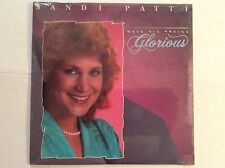 sealed SANDI PATTI...MAKE HIS PRAISE GLORIOUS vinyl LP 1988