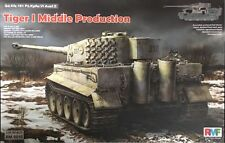Rye Field 1/35 Tiger I Middle Production Full Interior RM5010 & AFV Club AC35003