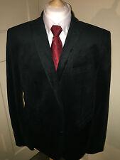 Siguiente. Co. UK Verde Oscuro Chaqueta blazer de noche de terciopelo 2B 48R 48 Regular Slim Fit 46