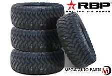 4 X New RBP Repulsor M/T 37X13.50R22LT 123Q 10Ply All Terrain Mud Tires MT