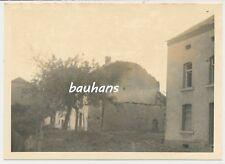 Foto Frankreich-Mangiennes-zerstörte Häuser -Pz.Jg.Abt.230 (p287)