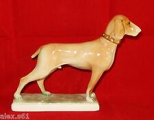 Hungary Porzellan Figur Figuren Hund Jagdhund