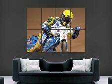 THOMAS GOLLOB POLISH  SPEEDWAY RIDER ART WALL PICTURE POSTER  GIANT HUGE