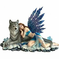Nemesis Now Lupiana - FAIRY WITH WOLF - FANTASY - B1239D5 BRAND NEW BOXED