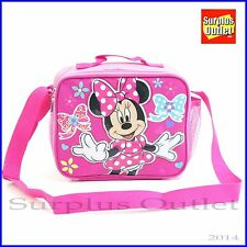 Disney Minnie Mouse Insulated Lunch Bag for School in Pink