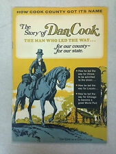 "1968 ""The Story of Dan Cook"" -How Cook County Got Its Name Informational Booklet"