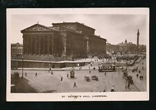 Lancashire Lancs LIVERPOOL St George's Hall  pre1919 RP PPC by Boots