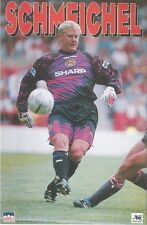 PETER SCHMEICHEL MANCHESTER UNITED Original Starline Poster MINI Promo Piece 3x5