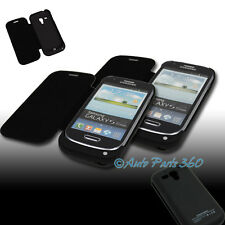 2PCS 2000MAH EXTERNAL BACKUP BATTERY POWER BANK CASE COVER BLACK GALAXY S3 MINI