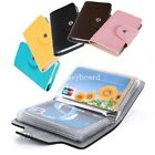 New 24 Cards Pu Leather Credit ID Business Card Holder Pocket Wallet Case