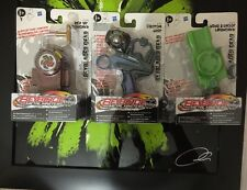Beyblader 1xrev fino Launcher 2xcustom Grip 3xwind sparare Launcher (6beyblade HASBRO
