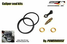 Yamaha RS 125 DX 76-80 front brake caliper seal repair kit 1976 1977 1978