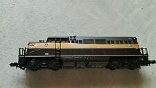 A model railway locomotive in N gauge by life like trains no 7908 working