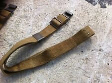 Canva sling US-ARMY *M-1 GARAND/BM-59* WEB material kahki color* good condition*
