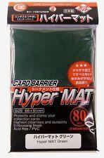 KMC Hyper Mat Green Sleeves / Hyper Matt-Grün (80 Stück)