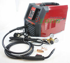 MIG 185 Flux 230V 170 Amp Welding Machine Gas / NO Gas Welder w/Regulator & Hose