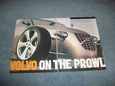 "2004 Custom Built Volvo T6 Roadster Article ""Volvo on the Prowl"""