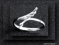 14.02. Valentinstag: Damenring Flügel Ring (Silber Herz Geschenk Engel Schmuck)