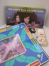 The Hardy Boys Mystery Secret of Thunder Mountain 1978 Family Board Game Vintage