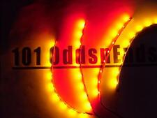 """RC Red/Yellow Underglow LED Strip Lights Superbright FPV Quadcopter 6"""" Nav"""