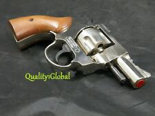 """NEW ITALY REAL WOOD & METAL 2.5"""" MOVIE PROP Pistol Hand Gun.38 S&W SPECIAL CHIEF"""