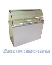 FRICON 8 FLAVOR ICE CREAM / GELATO DIPPING CABINET COMMERCIAL FREEZER DDC52