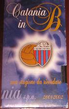 """Videocassetta/Calciatori/VHS """" CATANIA IN B UNA STAGIONE DA RICORDARE """" cod. P1"""