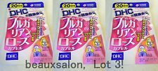 LOT3! DHC Supplement Bulgarian Rose, 40 tablets (20day)x 3packs = 60days,2018-01