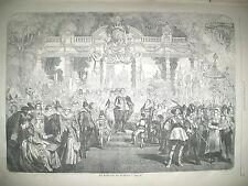 MARIAGE PEINTRE RUBENS ARCHEVEQUE DE PARIS SIBOUR FANAL D'ALARME GRAVURES 1859