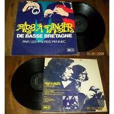 LES FRERES PENNEC - Airs A Danser De Basse Bretagne Rare French LP Celtic Folk