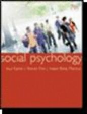 Social Psychology 7th Edition, Markus, Hazel Rose, Fein, Steven, Kassin, Saul, G