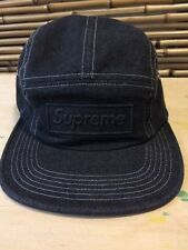 Supreme SS16 Embossed Stone Washed Camp Cap