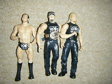 THE NWO HULK HOGAN HALL NASH BELT TNA WRESTLERS ACTION WRESTLING FIGURE WWE WCW