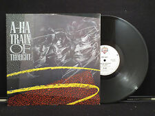 A-Ha - Train Of Thought on Warner Bros Records W8736(T) UK Pressing