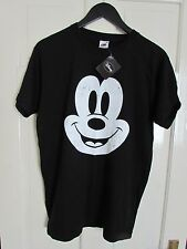 NEW  Tags Rare Vintage Style Disney Mickey Mouse Mens T Shirt Fruit of the Loom